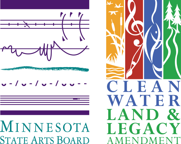 Logo for Minnesota State Arts Board and Clean Water, Land and Legacy Amendment