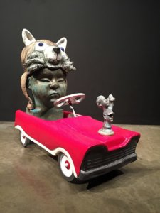 Henry's Hood Ornament by Jeremy Jones by